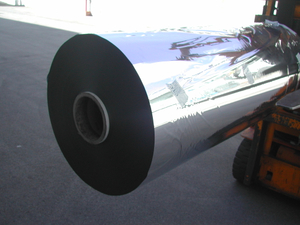 Metallized PE PVC PET CPP Vinyl Films
