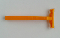 Yellow Disposable Razor